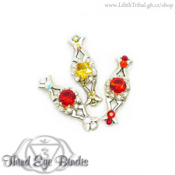 Fish Eye - tribal bindi