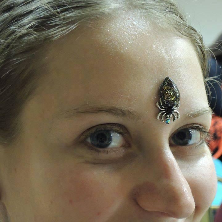 Spider bindi Parwana