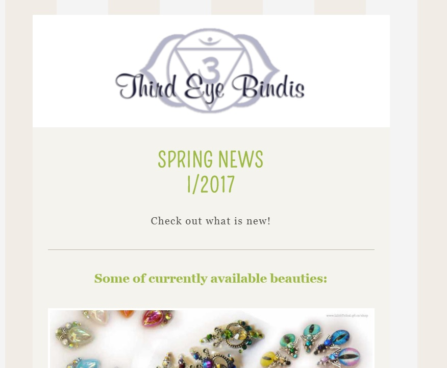 Discount newsletter